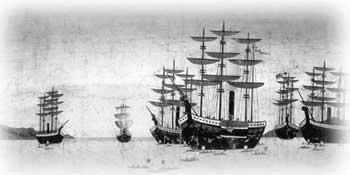 ペリーと黒船:塗装の歴史