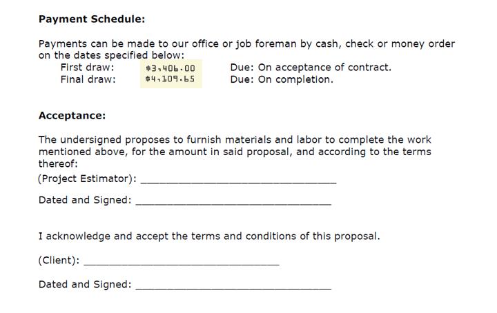 支払い条件と承認