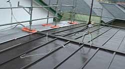 トタン屋根の遮熱塗装