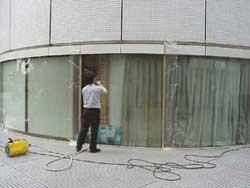 『酸化チタン光触媒』の塗装施工例「新宿ワシントンホテル」