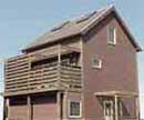 外壁の種類:木造板張り