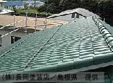 屋根塗装「上塗り」